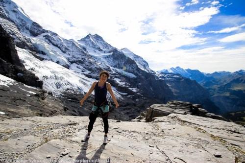 Switzerland Europe Alps Swiss Travel Jungfrau Lauterbrunnen Adventure Mountains Glacier Rock Climbing Via Ferrata Snow Geology Formation Plate Tectonics Photography