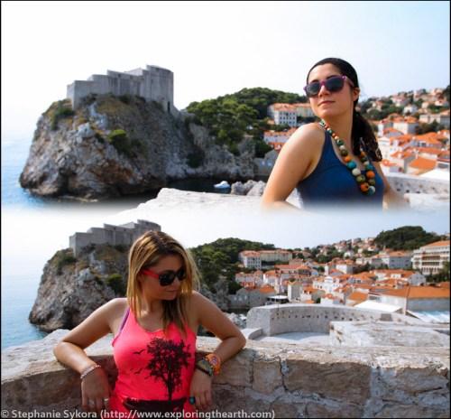 Dubrovnik Croatia Walls Ocean Mediterranean Seaside Old Town Travel Culture Adventure Europe