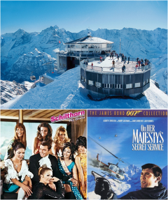 James Bond, Filmed, Location, Switzerland, Schilthorn, 6th, On Her Majesty's Secret Service, 007, Europe, Alps