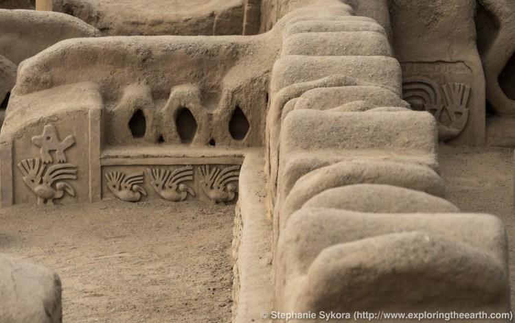 Peru, Trujillo, Chan Chan, Marking, historic site,