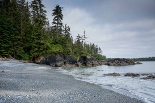 hiking and camping inside Cape Scott Provincial Park on Vancouver Island. This is on the North Coast Trail