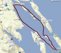 LInk to the GPS Route with annotaion