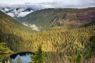 A view down Blakeney Creek Valley to the San Juan River Valley