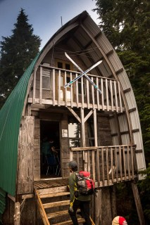 Tower Hut on the Kludahk Trail