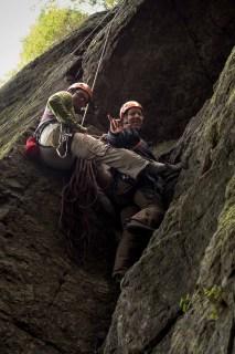 Island Alpine Guides Learn to Lead Climb Vancouver IslandA