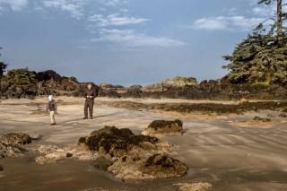 Island Mountain Rambers hike the Wild Side Trail, Flores Island  Matthew Lettington