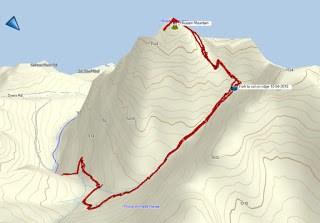 H'Kusam Mountain Stow Creek Trail Map