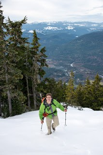 Climbing Spring Peak on Vancouver Island