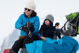 Island Mountain Ramblers, Snowshoe to Helen Mackenzie