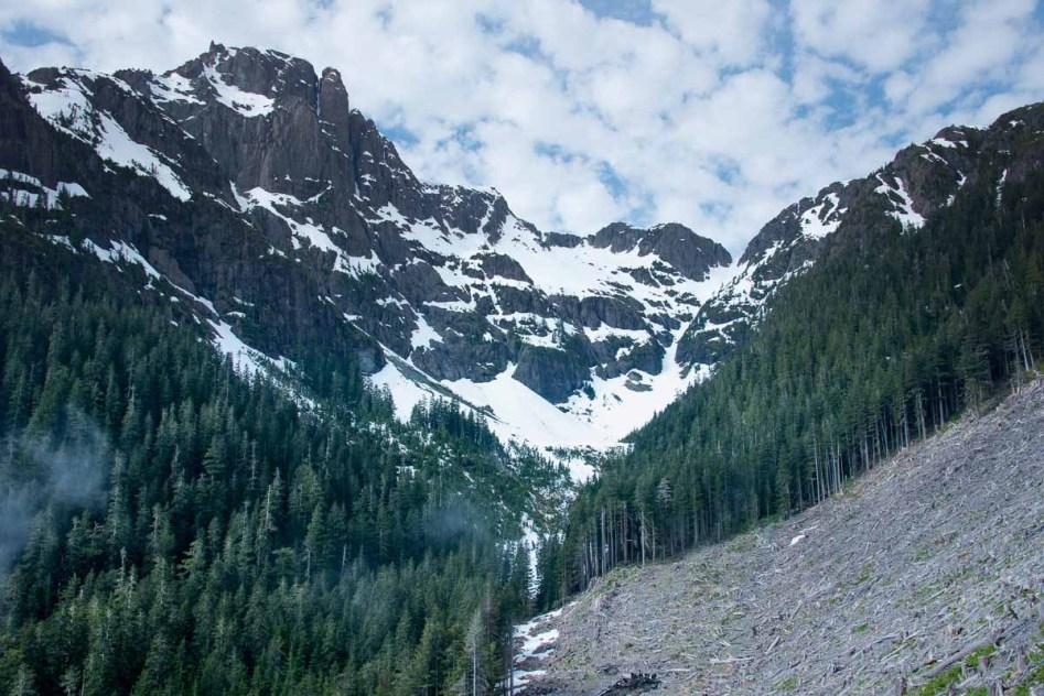 Mount Palmerston trip report