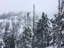 Hiking on Vancouver Island, Ski touring on Vancouver Island