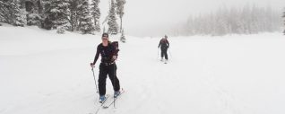Stranthcona Park, Ski touring, backcountry skiing, explorington, Matthew Lettington, Paradise Meadows, Mount Elma