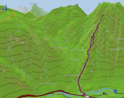 Big Den Mountain , Strathcona Park GPS Route