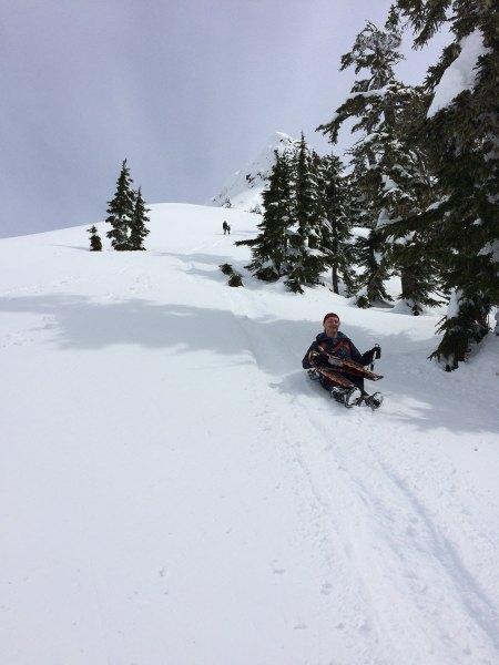 hiking vancouver island, mountaineering, Waring Peak in the Sutton Range