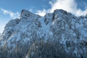 Mount Milner, prince of wales range, Vancouver Island mountaineering