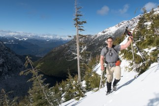 Mount Milner, prince of wales range, Vancouver Island mountaineering