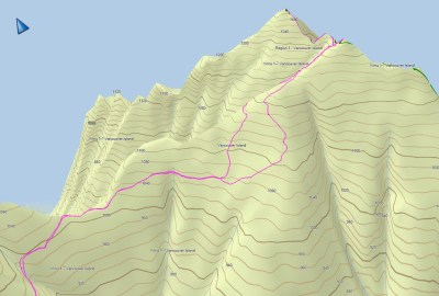 Mount Spencer GPS track & map