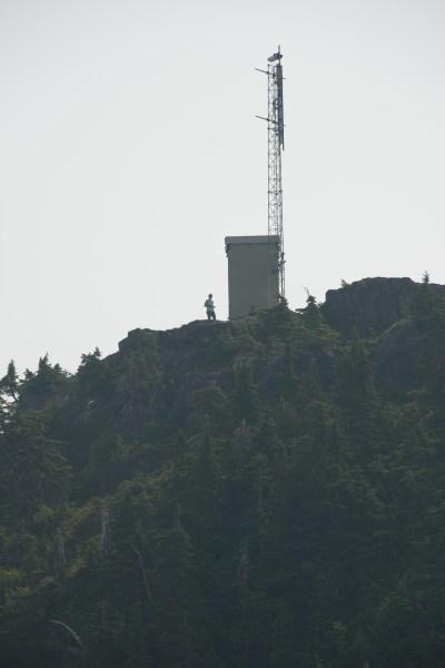 hiking to Mount Grey on Vancouver Island