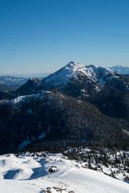 Mount Gibson and Mount Klitsa as seen from Adder Mountain