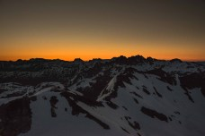 Sunrise over Rosseau Ridge