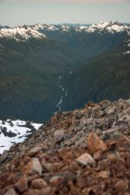 hiking to Big Interior Mountain in Strathcona Park