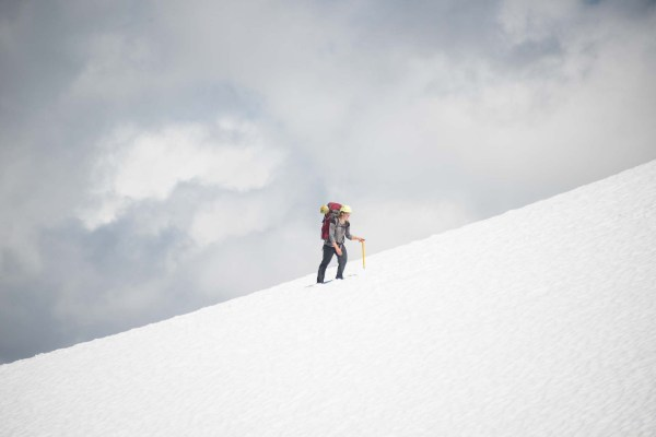 mountaineering--one step at a time