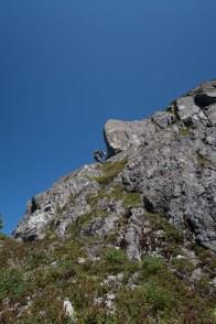 Hiking and Mountaineering to Conuma Peak in the Tlupana Range