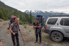 Hiking to Mount Peel on Vancouver Island