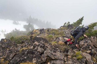 Hiking to Mount Derby on Vancouver Island