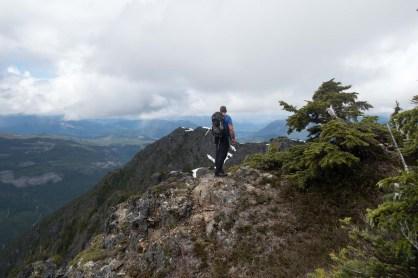 hiking to Mount Abraham (Mount Seth)