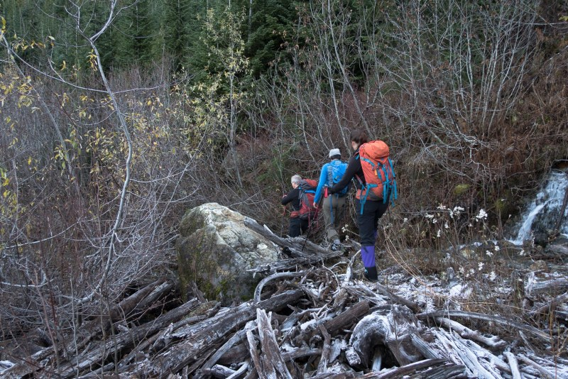 hiking to Mount Roberts in the Prince of Wales Range