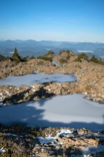 hiking to Mount Roberts on Vancouver Island in the Prince of Wales Range