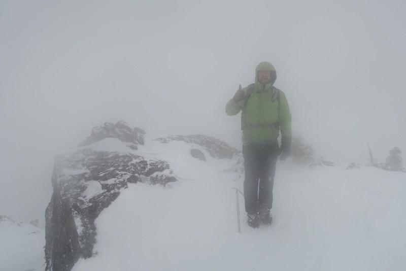 hiking in Cowichan Valley to El Capitan Mountain