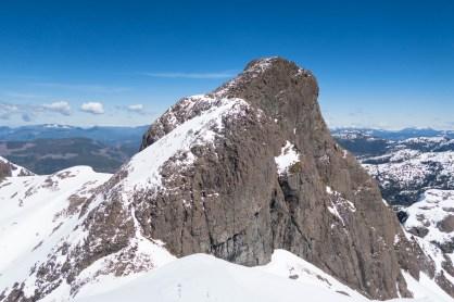 Zeballos Peak summit block