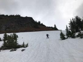 Summit of Green Mountain on the horizon