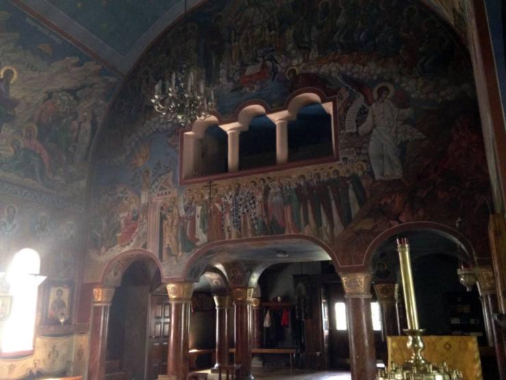 Holy Trinity Monastery - Jordanville, NY Church #1 Icons Nave
