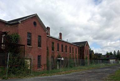 Abandoned Buildings in Ovid, NY at the Willard Asylum