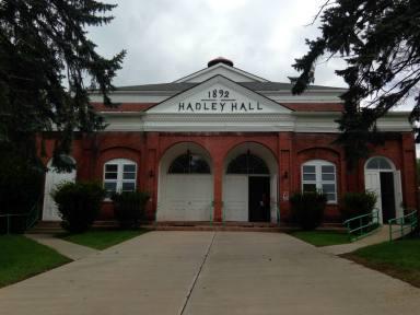 Hadley Hall est. 1892 at Willard Asylum for the Insane in Ovid, NY