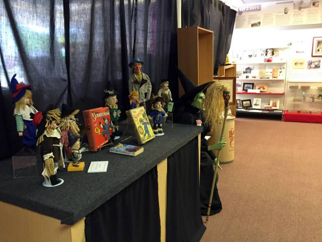 Display at the All Things Oz Museum in Chittenango, New York