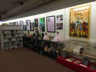 Display in the All Things Oz Museum in Chittenango, New York