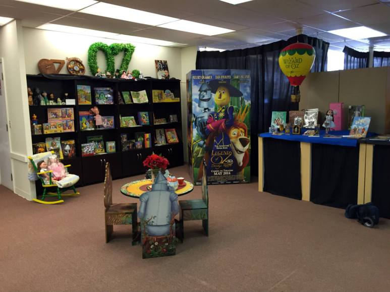 Inside the All Things Oz Museum in Chittenango, New York