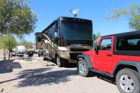RV with jeep