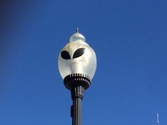 Alien Lamp Post