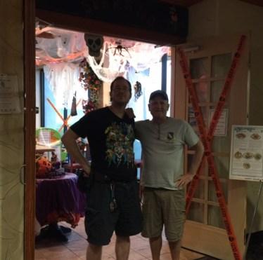 Kris & Kevin@Mexican Restaurant