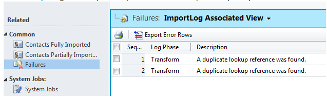 Resolving Duplicate Lookup References in Import Process  (1/4)
