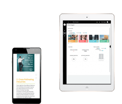 EYP on Tablet and Smartphone