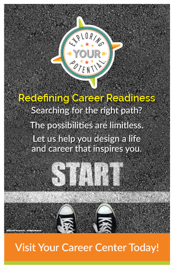 Image: Exploring Your Potential Start Poster - US Tabloid