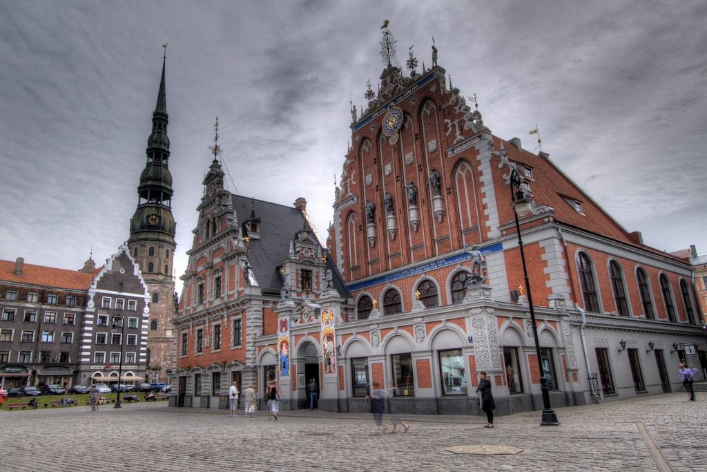 Riga Square HDR, Riga Latvia