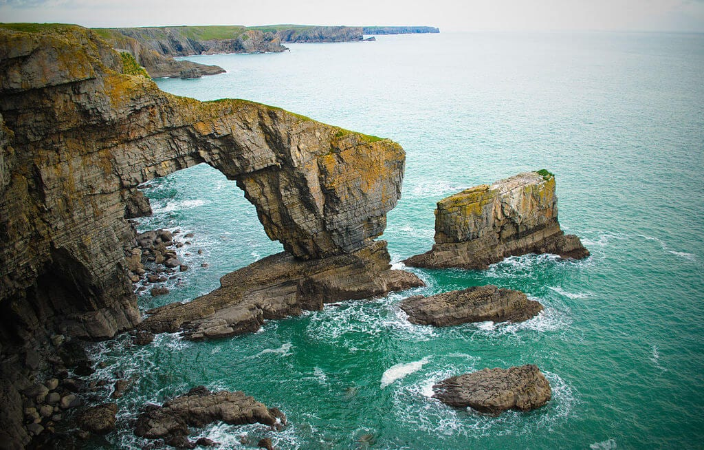 Green Bridge of Wales - Pembrokeshire