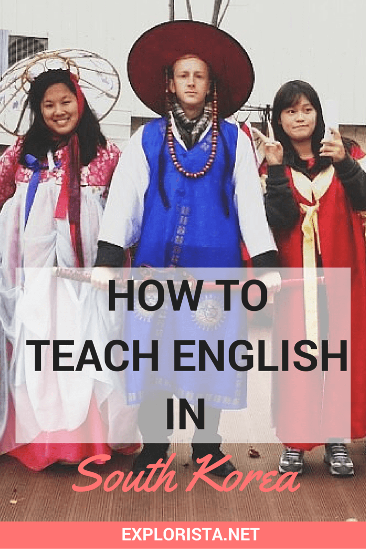 How to teach English in Korea